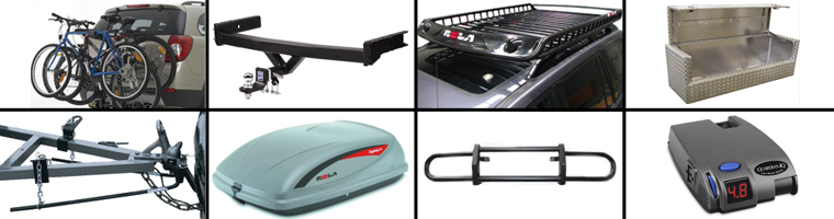 towbars, cargo carriers